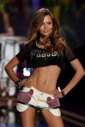 Josephine Skriver – 2014 Victoria's Secret Fashion Show – Runway in London