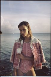 Josephine Skriver Bikini Photoshoot forRussh Magazine - December/January 2015