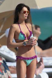 Julia Pereira Bikini Photos - in Miami, November 2014