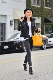 Julianne Hough Street Fashion - Out in Beverly Hills, December 2014