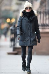 Julianne Moore Street Style - Out in New York, December 2014