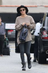 Kaley Cuoco Street Style - Out in Beverly Hills, Dec 2014