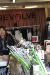 Kat Graham - Shopping at The Revolve Popup Store at The Grove in Los Angeles - Dec. 2014