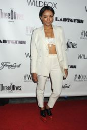 Kat Graham - Wayke Up Fundraiser 2014 in West Hollywood