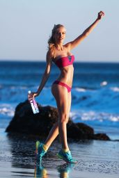Kat Torres - Photoshoot for 138 Water in Mary Grace Swimwear at a Beach in Malibu - Dec. 2014