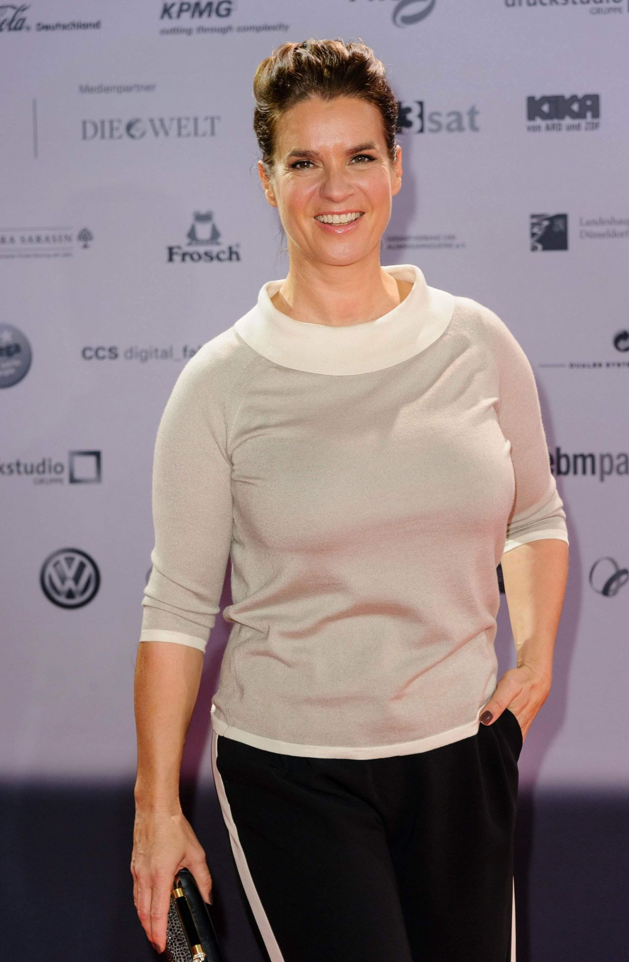 Katarina Witt - 2014 German Sustainability Award in Dusseldorf