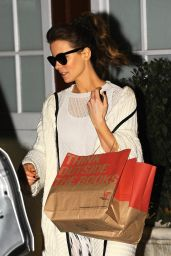 Kate Beckinsale Style - Leaving the Brentwood Country Mart - December 2014