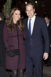 Kate Middleton (Duchess of Cambridge) and Prince William at The Carlyle Hotel in New York City - December 2014
