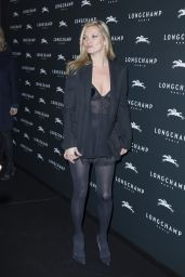 Kate Moss – 'Longchamp' Elysees Lights on Party Photocall in Paris, France, Dec. 2014