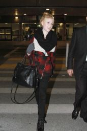 Katherine McNamara at LAX Airport, December 2014