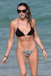 Katie Cassidy Bikini Candids - at a beach in Miami, December 2014