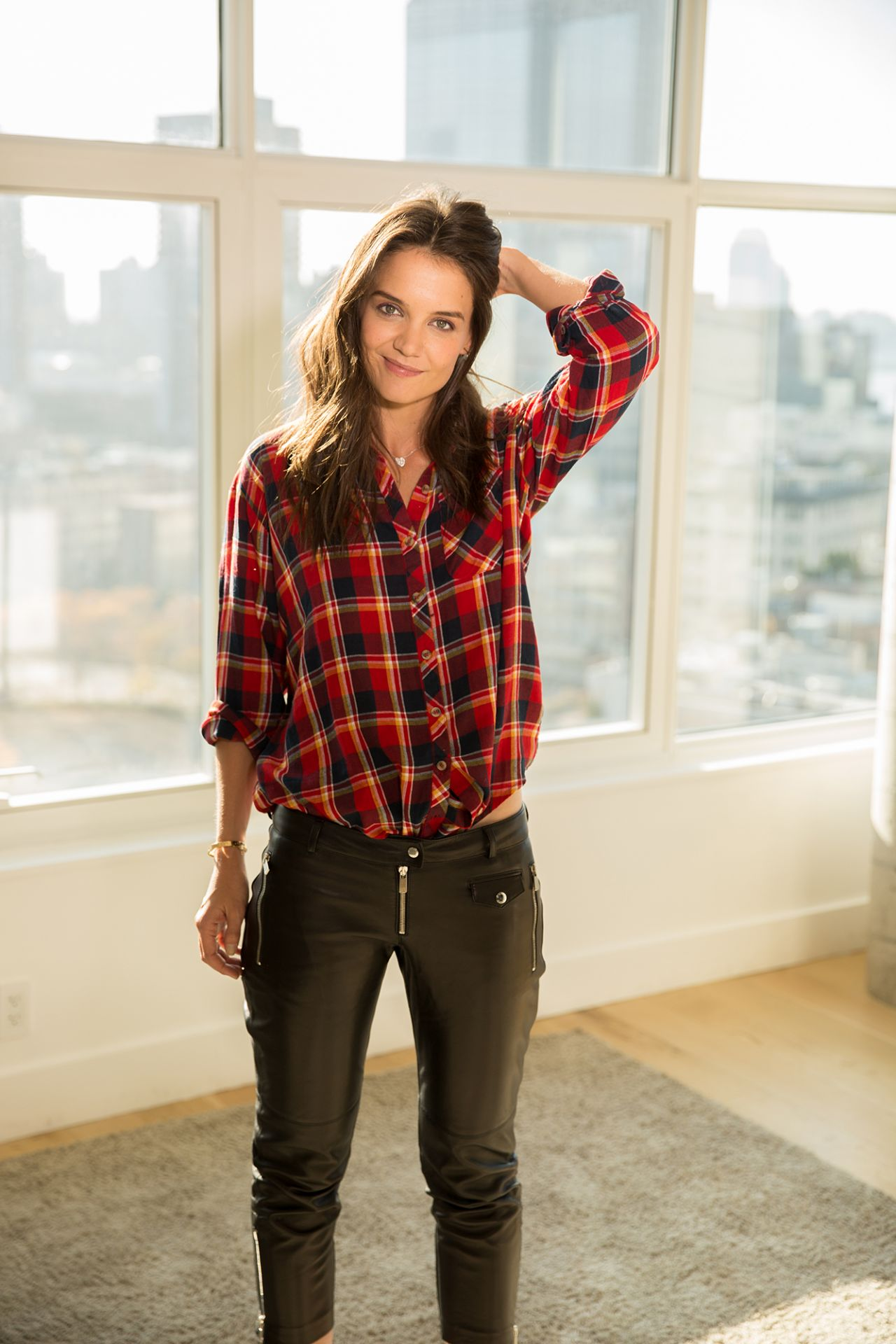 Katie Holmes - Photoshoot for USA Today - November 2014