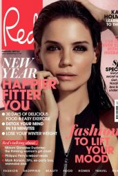 Katie Holmes - Red Magazine Cover - February 2015