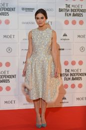 Keira Knightley - The Moet British Independent Film Awards 2014