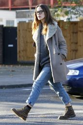 Keira Knightly Casual Style - East London, December 2014