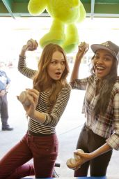 Kelli Berglund & China Anne McClain - Photoshoot for Bop and Tiger Beat - Knott