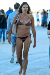 Kelly Bensimon in a Bikini - at a Beach in Miami, December 2014