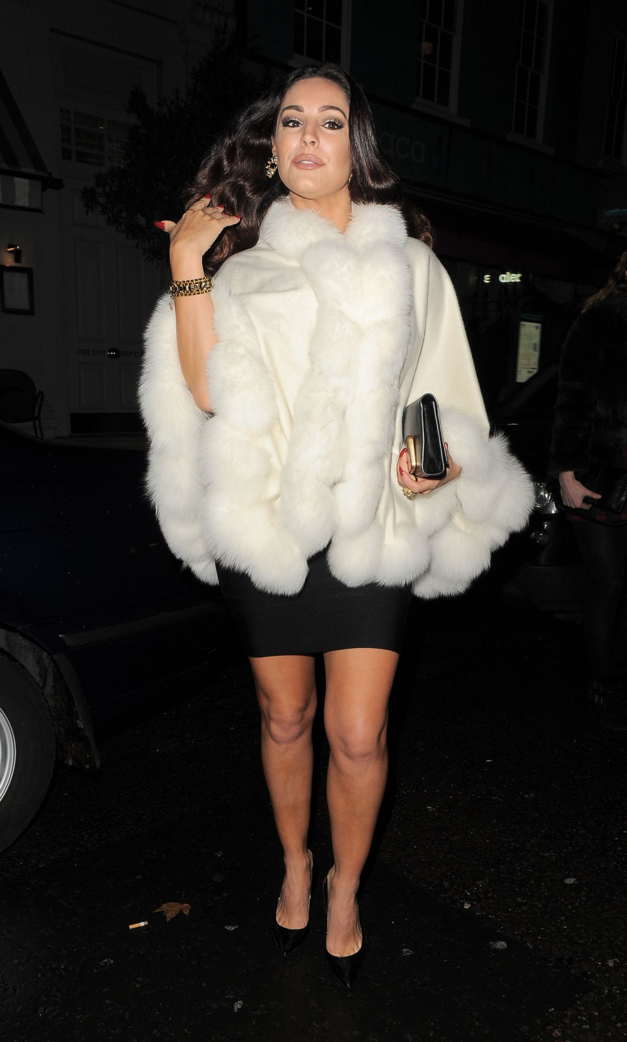Kelly brook 2015 celebrity photos going to a christmas 2014 party