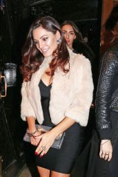 Kelly Brook Night Out Style - Partying at London Nightspot The Box