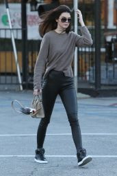 Kendall Jenner - Headed to a Mexican Restaurant in Los Angeles, Dec. 2014