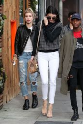 Kendall Jenner Style – Out in Beverly Hills, December 2014
