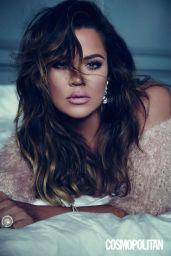 Khloe Kardashian - Cosmopolitan Magazine (UK) February 2015 Issue