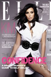 Kim Kardashian – Elle Magazine (UK) – January 2015 Photos