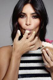 Kim Kardashian – Elle Magazine (UK) – January 2015 Photos