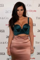Kim Kardashian Style - 2014 ACRIA Holiday Dinner in New York City