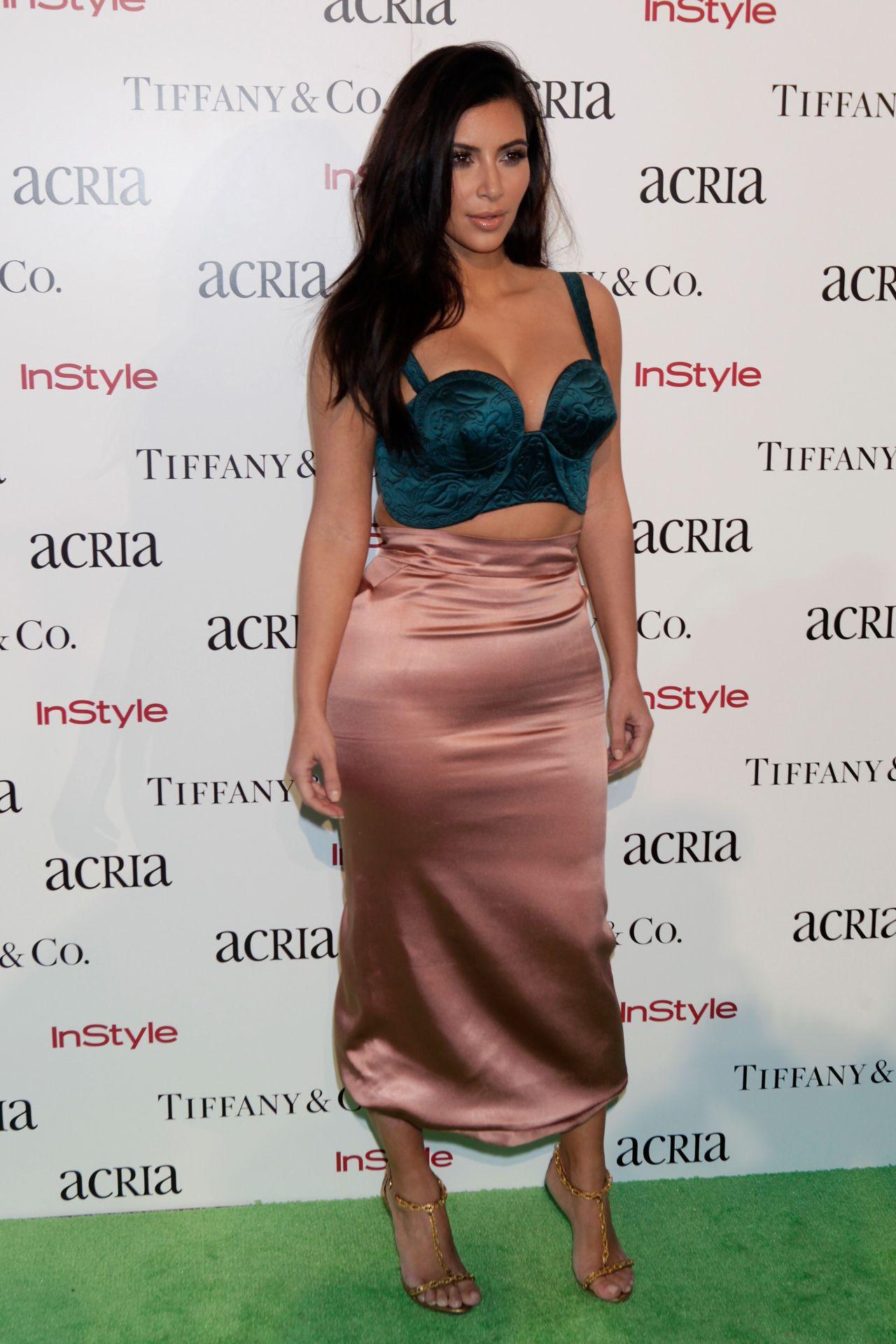 Kim Kardashian Style - 2014 ACRIA Holiday Dinner in New York City