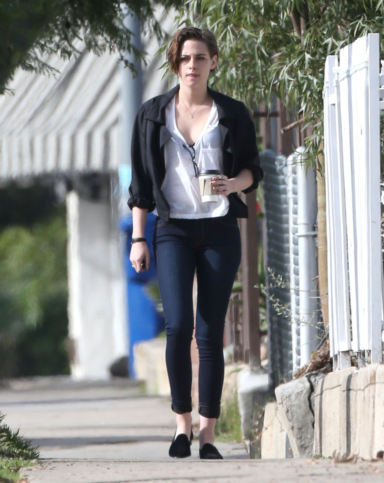 Kristen Stewart Style Out In Los Angeles December 2014