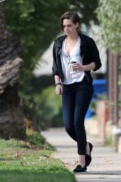 Kristen Stewart Style - Out in Los Angeles, December 2014