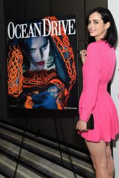 Krysten Ritter - Ocean Drive Magazine December 2014 Issue Launch in Miami Beach