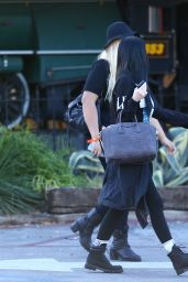 Kylie Jenner Casual Style - Out in Los Angeles, Dec. 2014