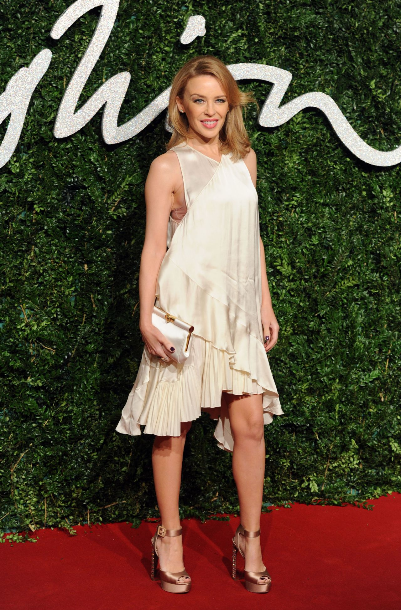 Kylie Minogue – 2014 British Fashion Awards in London