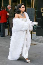 Lady Gaga Fashion - Out in New York City, December 2014