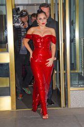Lady Gaga Style - New York City, December 2014