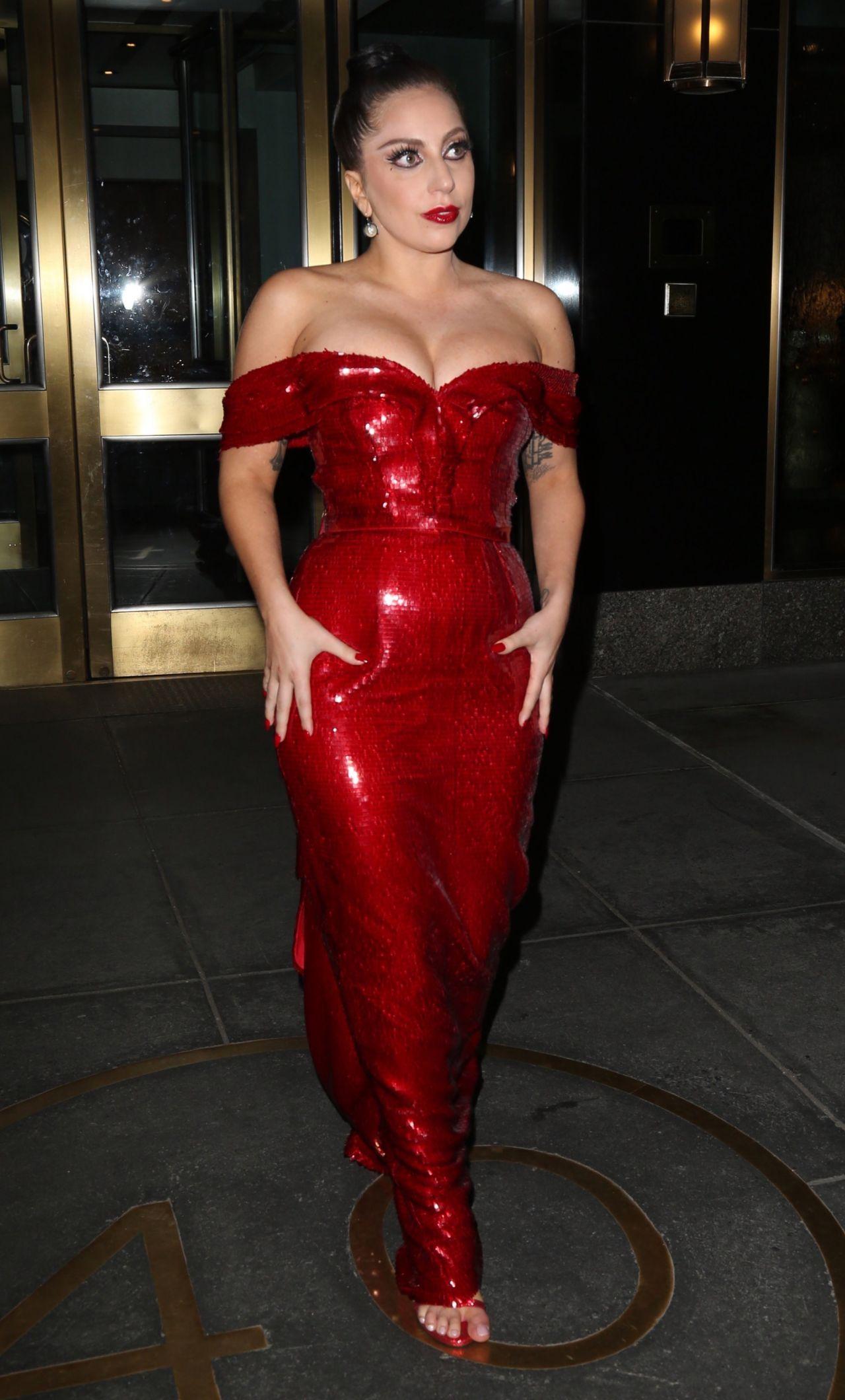 Lady Gaga Style New York City December 2014