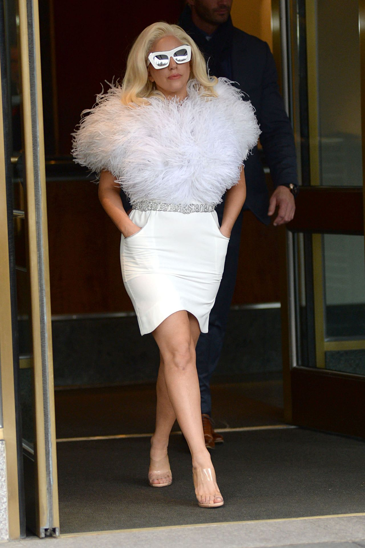 Lady Gaga Style - Out in New York City, December 2014