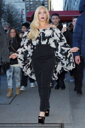 Lady Gaga Style - Out in NYC, Dec. 2014