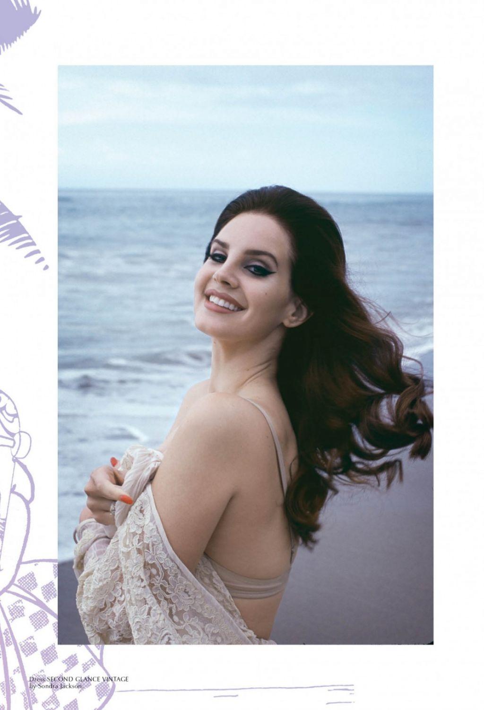Lana Del Rey By Chris Nicholls For Fashion Magazine: Galore Magazine December 2014 Issue