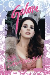 Lana Del Rey - Galore Magazine December 2014 Issue