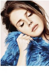 Lana Del Rey - Grazia Magazine (France) - December 2014