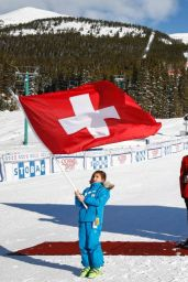 Lara Gut - Super-G Winner in Lake Louise - December 2014