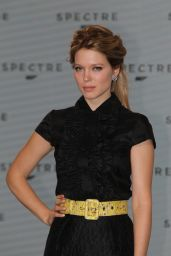 Lea Seydoux - Photocall for the 24th Bond Film 'Spectre' at Pinewood Studios in England