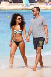 Leigh-Anne Pinnock Bikini Pictures From Barbados - December 2014