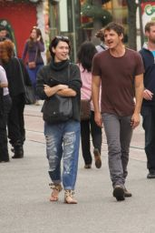 Lena Headey With Pedro Pascal - Shopping at The Grove in Los Angeles, December 2014