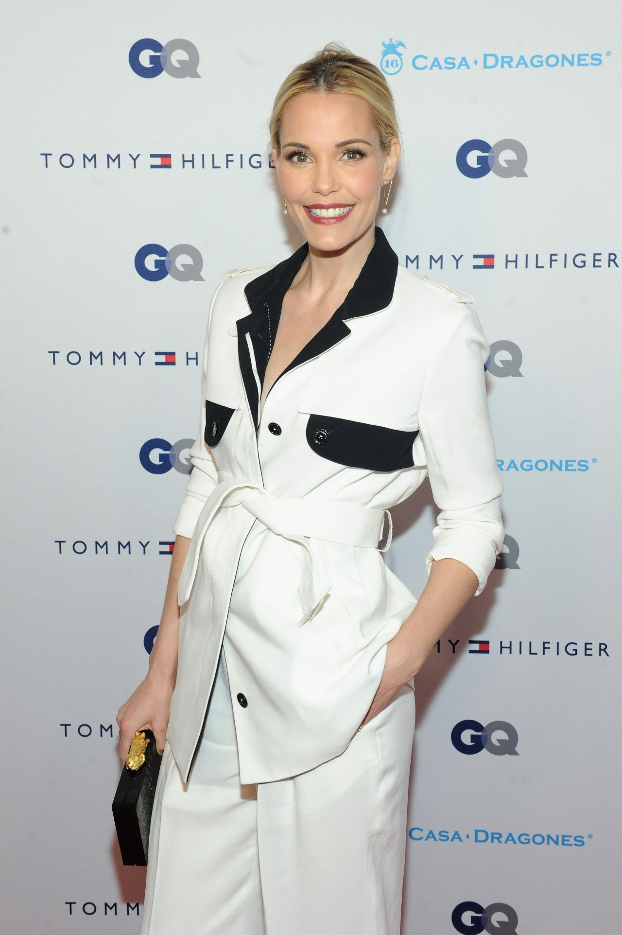 Leslie Bibb - Tommy Hilfiger and GQ Event Honoring The Men Of New York - Dec. 2014