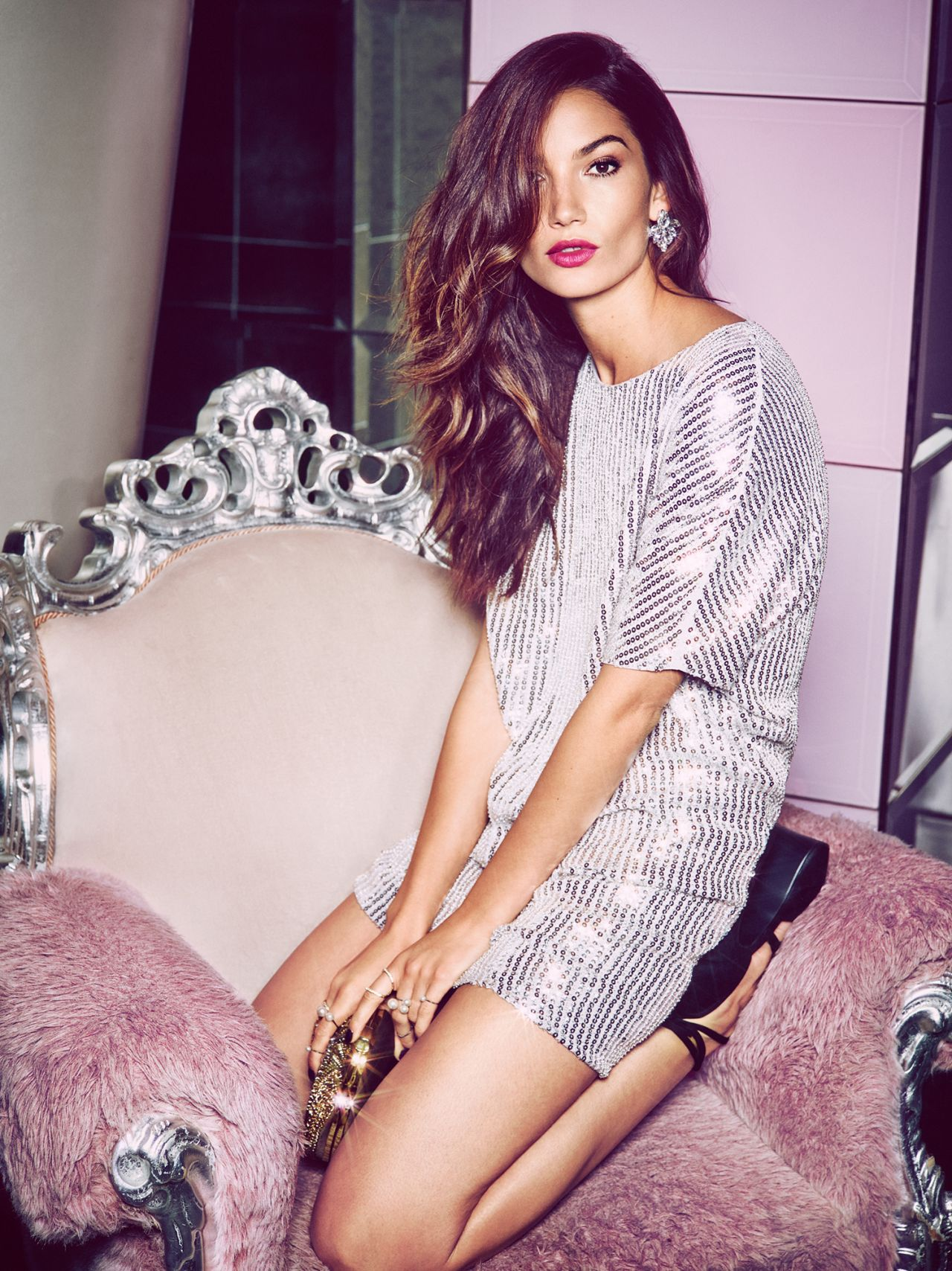 Lily Aldridge Photoshoot For Nelly Com 2014