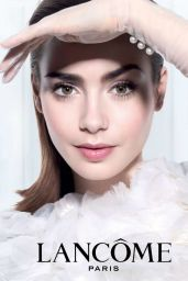 Lily Collins - Lancome Campaign 2014 (+4)